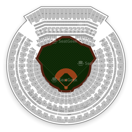 Oakland Athletics Seating Chart & Map | SeatGeek