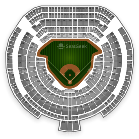 O.co Coliseum seating chart Oakland Athletics