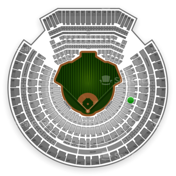 Oakland Athletics at O.co Coliseum Section 107 View