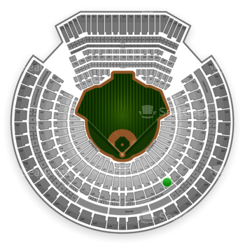 Oakland Athletics at O.co Coliseum Section 212 View