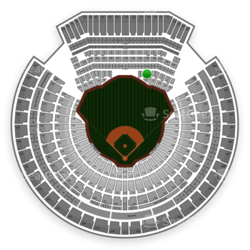 Oakland Athletics at Overstock.com Coliseum (formerly Oakland Coliseum) Section 146 View