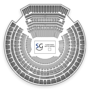 O.co Coliseum Seating Chart Auto Racing