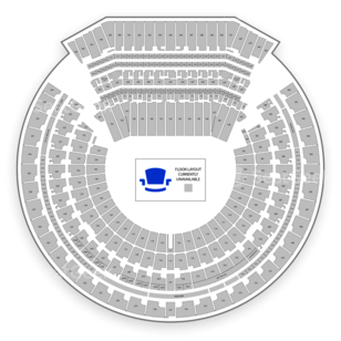 RingCentral Coliseum Seating Chart Concert