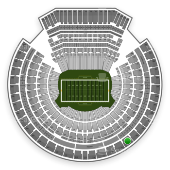 Oakland Raiders at O.co Coliseum Section 312 View