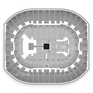 Izod Center Seating Chart Wrestling