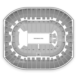 Izod Center Seating Chart Theater