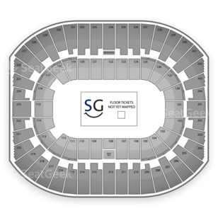 Izod Center Seating Chart Concert