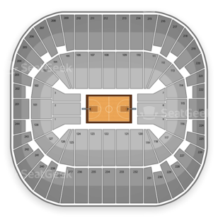 Izod Center Seating Chart NCAA Basketball