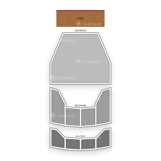 Tulsa Performing Arts Center Seating Chart Theater