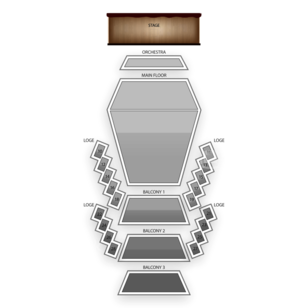 Stephens Auditorium Seating Chart Family