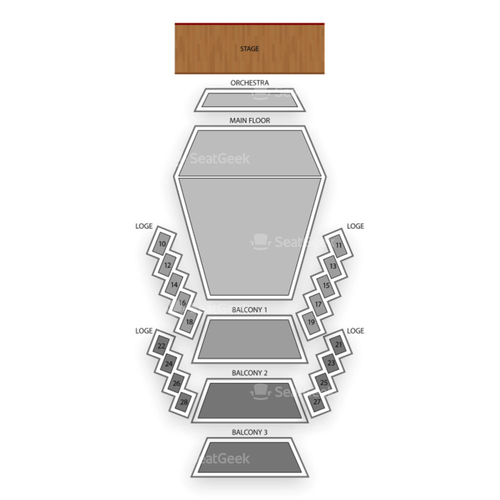 Stephens Auditorium Seating Chart Dance Performance Tour