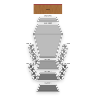 Stephens Auditorium Seating Chart Classical