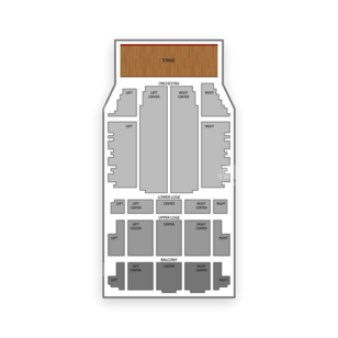 United Palace Theatre Seating Chart Classical