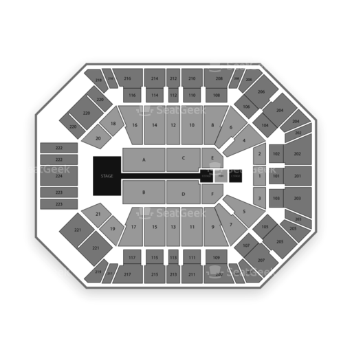 Mgm Grand Garden Arena Seating Chart Seatgeek