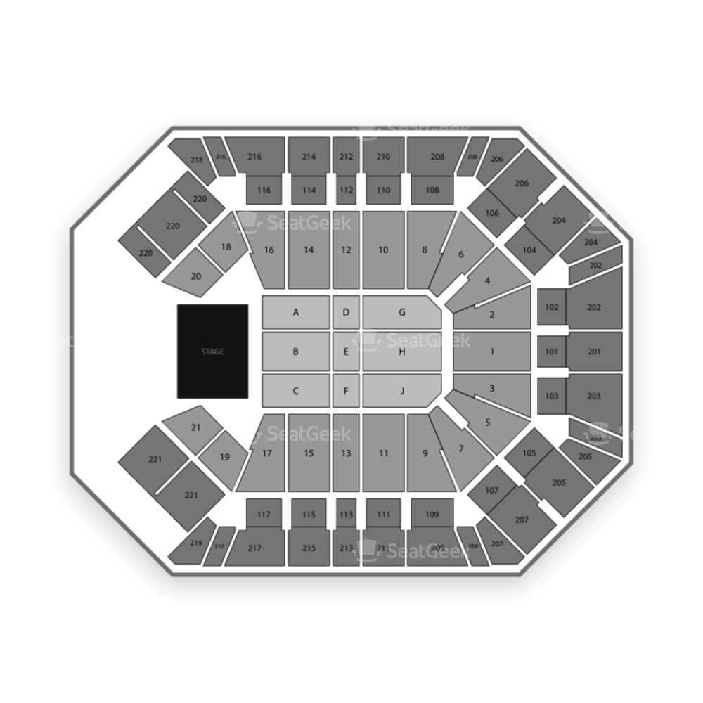 MGM Grand Garden Arena Seating Chart Classical