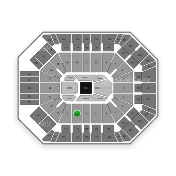 Boxing at MGM Grand Garden Arena Section 15 View