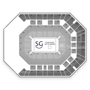 MGM Grand Garden Arena Seating Chart Concert