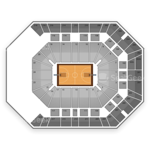 MGM Grand Garden Arena Seating Chart NCAA Basketball
