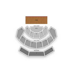 Speaker Jo Ann Davidson Theatre (formerly Capitol Theatre) Seating Chart Comedy