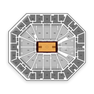 South Carolina Gamecocks Basketball Seating Chart