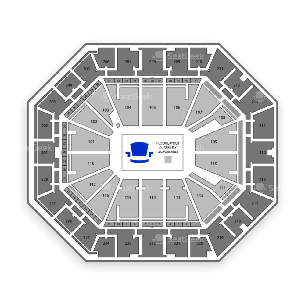 Colonial Life Arena Seating Chart Music Festival