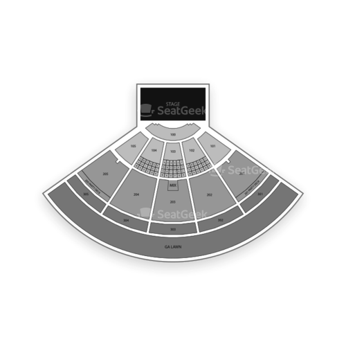 Ak-Chin Pavilion Seating Chart Concert