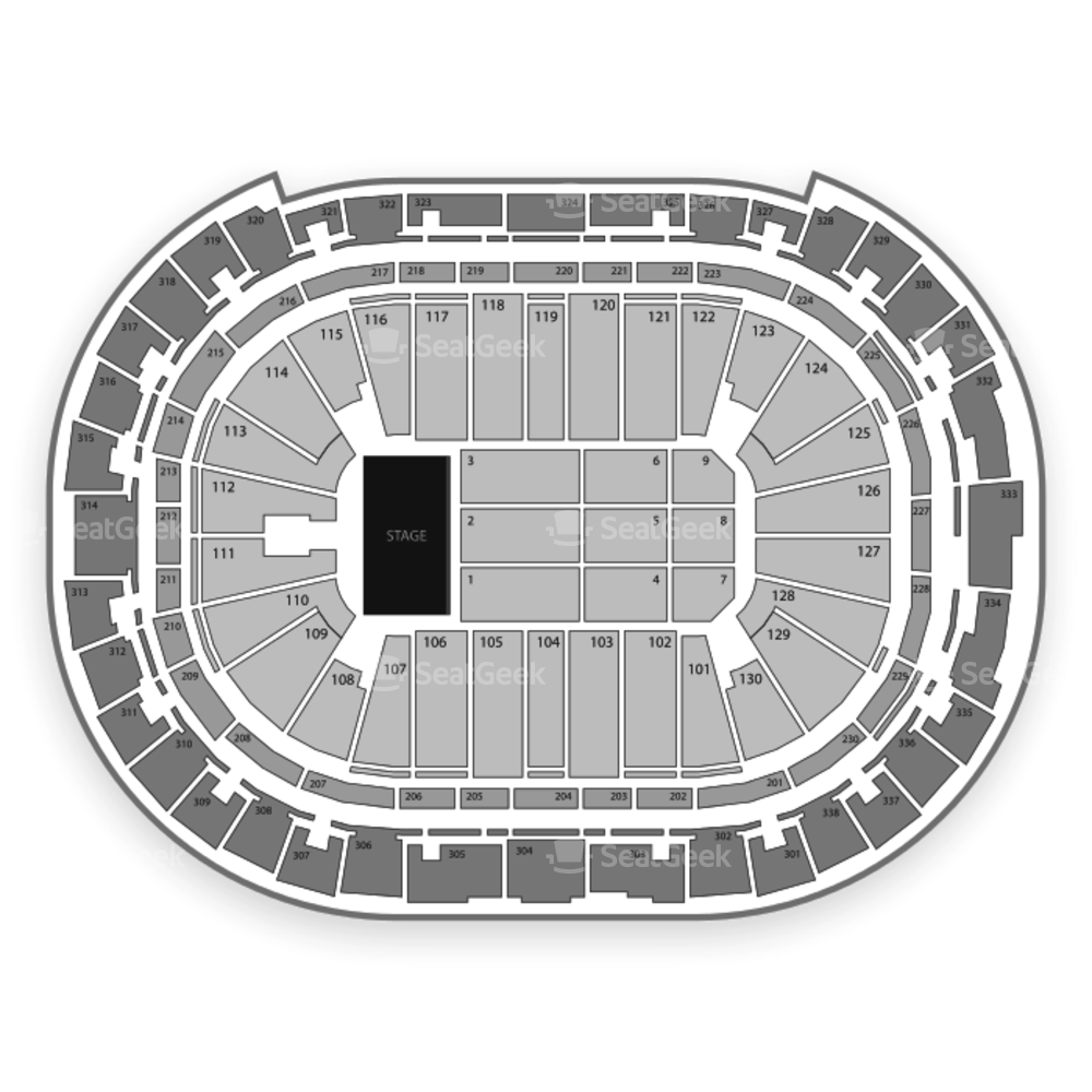 PNC Arena Seating Chart Concert