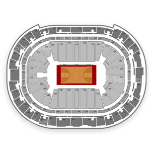 PNC Arena Seating Chart NCAA Basketball
