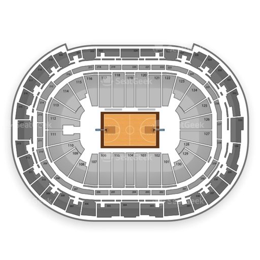 PNCA Arena NCAA Tournament Seating Chart