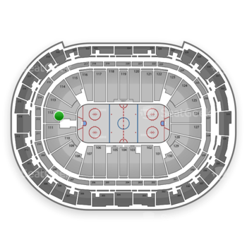 Carolina Hurricanes at PNC Arena Section 112 View