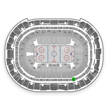 Carolina Hurricanes at PNC Arena Section 201 View