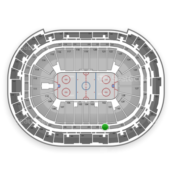 Carolina Hurricanes at PNC Arena Section 202 View
