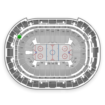 Carolina Hurricanes at PNC Arena Section 215 View