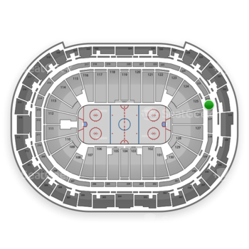 Carolina Hurricanes at PNC Arena Section 226 View