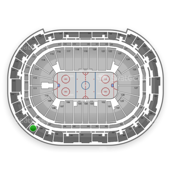 Carolina Hurricanes at PNC Arena Section 309 View