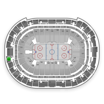 Carolina Hurricanes at PNC Arena Section 313 View