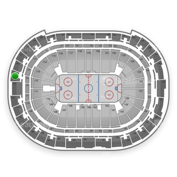 Carolina Hurricanes at PNC Arena Section 315 View