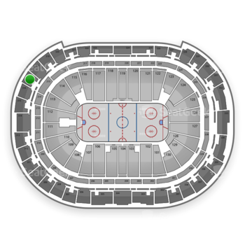 Carolina Hurricanes at PNC Arena Section 317 View