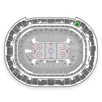 Carolina Hurricanes at PNC Arena Section 328 View