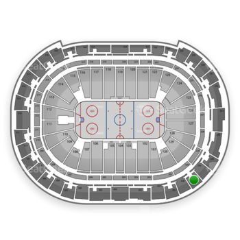 Carolina Hurricanes at PNC Arena Section 337 View