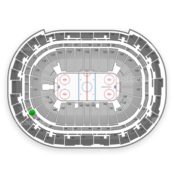 Carolina Hurricanes at PNC Arena Section 209 View