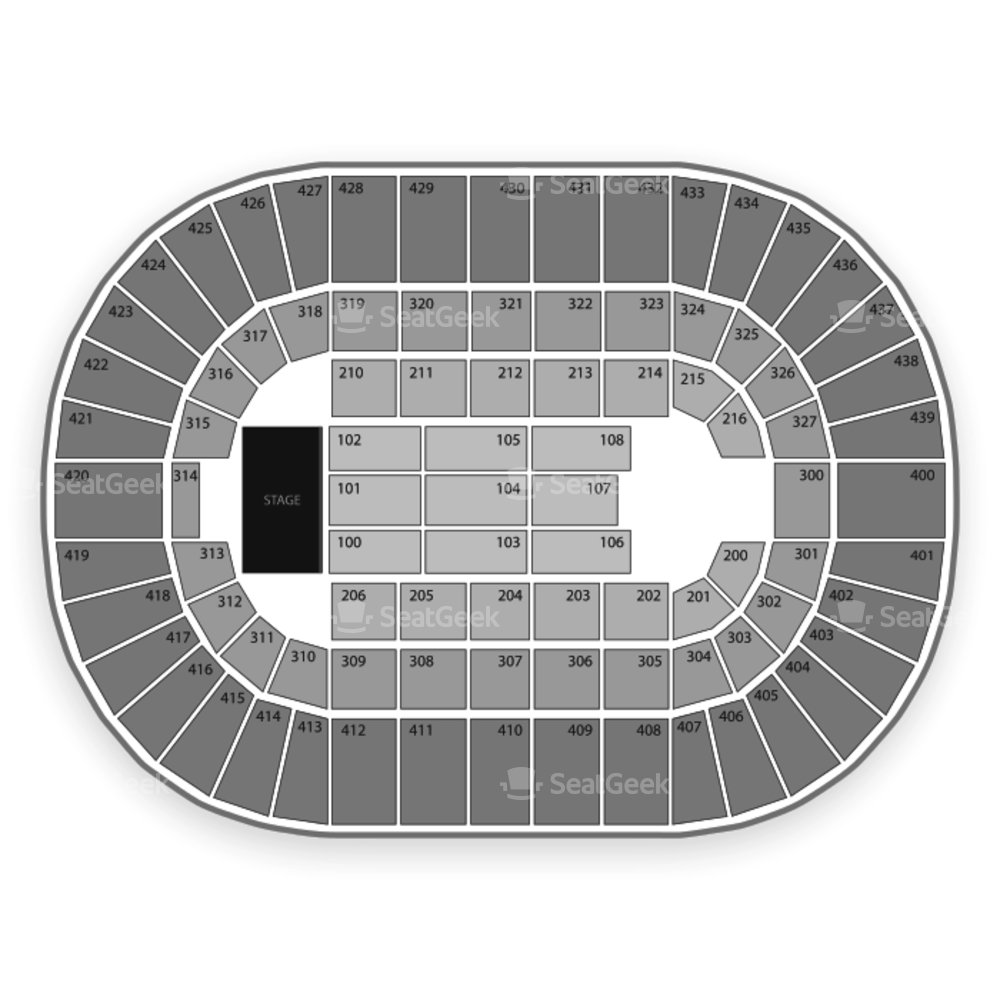Cox Convention Center Seating Chart Concert