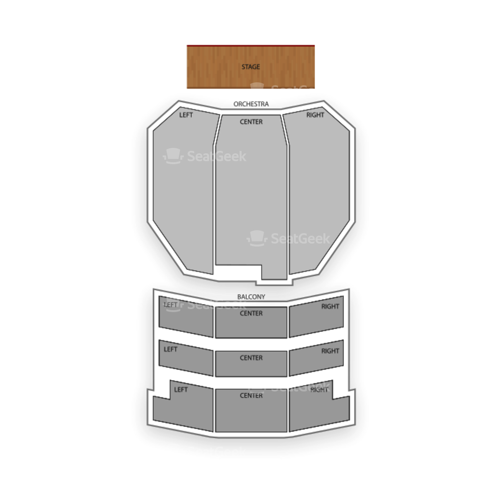 Bob Hope Theatre Seating Chart Concert