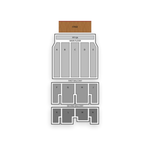 McFarlin Auditorium Seating Chart Theater