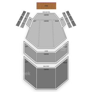 Aronoff Center for the Arts Seating Chart Theater