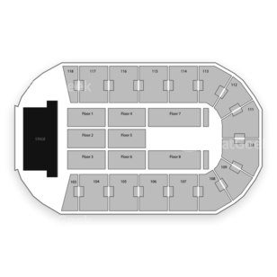 Independence Events Center Seating Chart Concert
