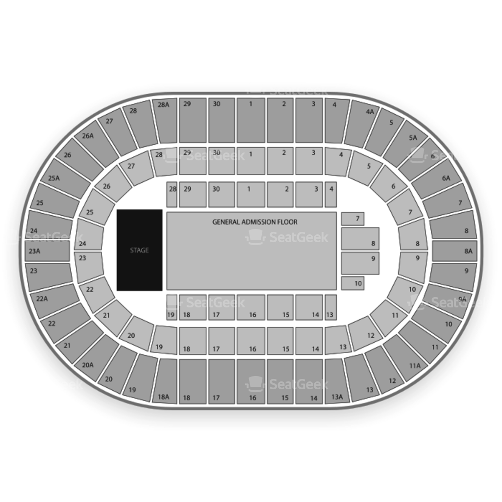 Los angeles sports arena seating chart interactive seat map
