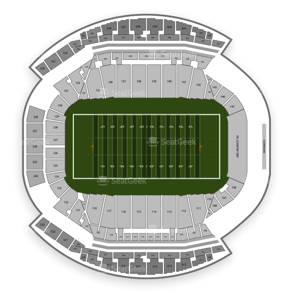 Mosaic Stadium Seating Chart Football
