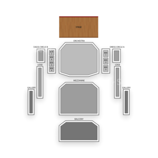 DeVos Performance Hall Seating Chart Family
