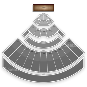 White River Amphitheatre Seating Chart Music Festival
